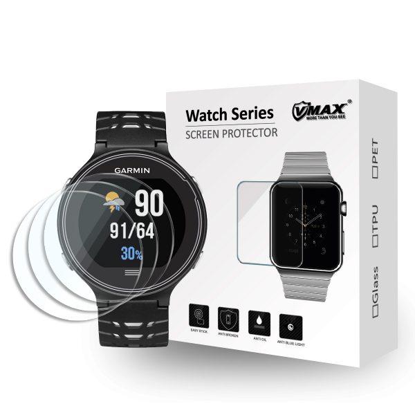 VMAX Garmin Forerunner 235/225/220/620/630 Smart Watch Tempered Glass Screen Protector