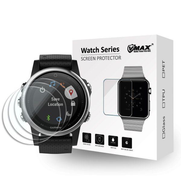 VMAX Garmin Fenix 5s Smart Watch Tempered Glass Screen Protector