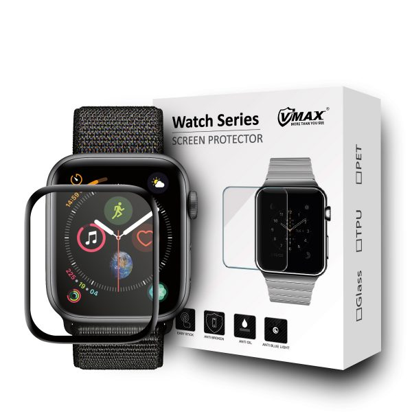 VMAX Apple Watch Series 4 44mm Smart Watch Tempered Glass Screen Protector