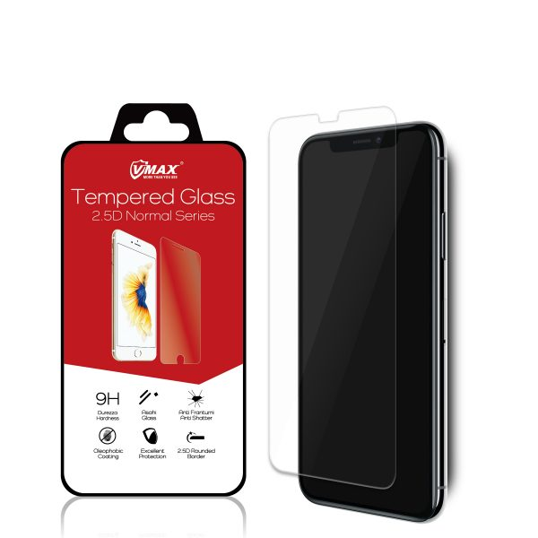 VMAX Apple iPhone X 2.5D Tempered Glass Screen Protector
