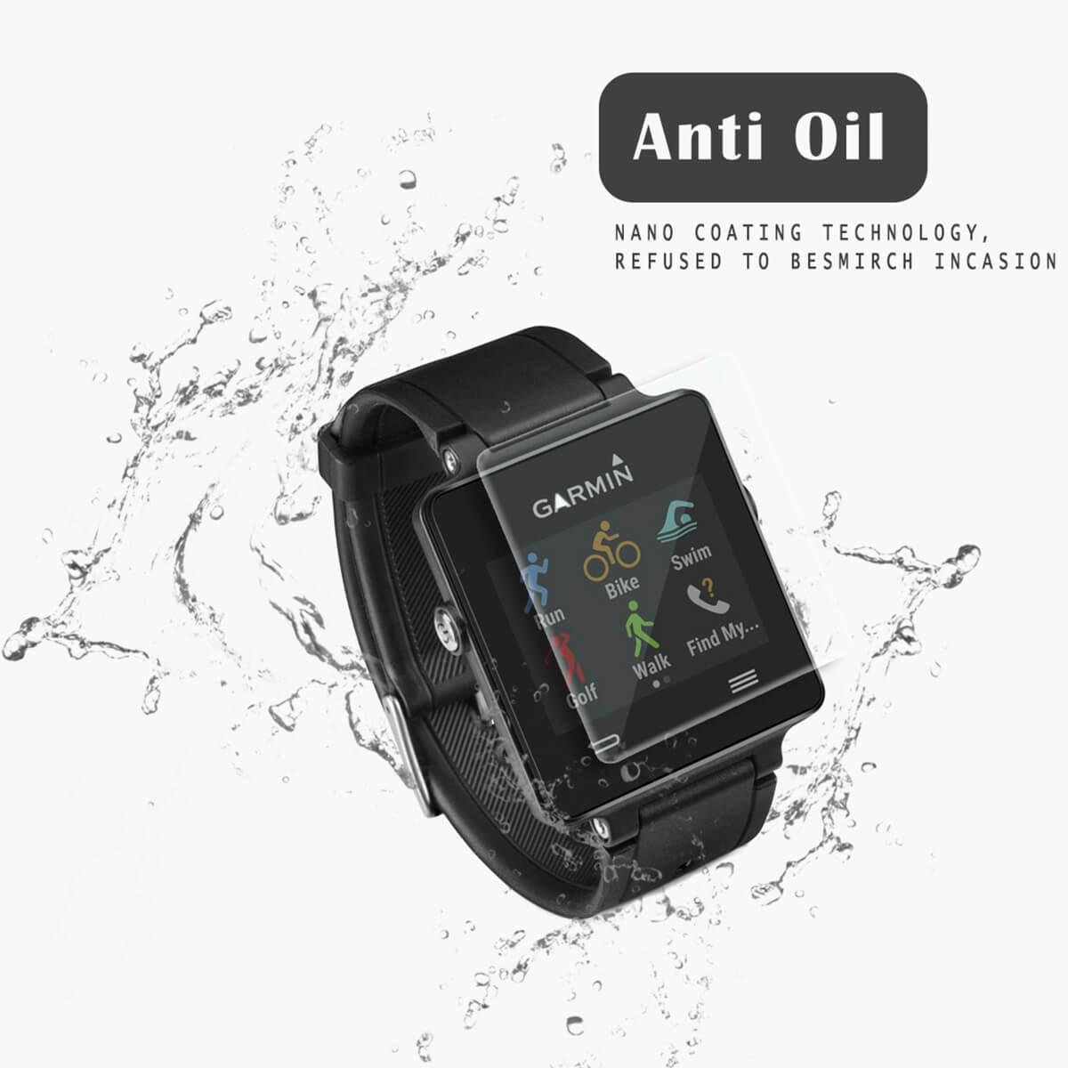 VMAX Garmin Vivoactive Smart Watch Tempered Glass Screen Protector