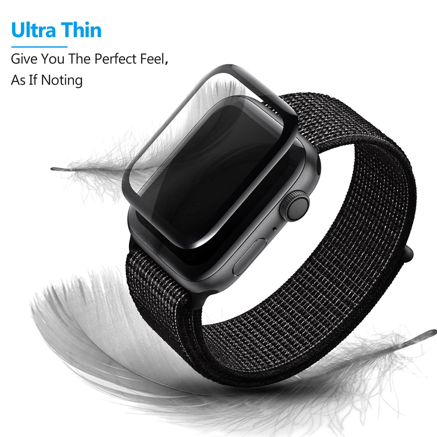 VMAX Apple WatchSeries 4 44mm Smart Watch Tempered Glass Screen Protector