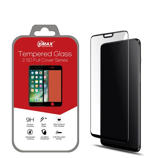 VMAX OnePlus 6 2.5D Full Cover Tempered Glass Screen Protector