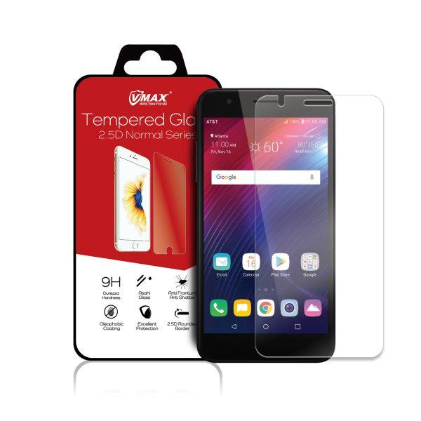 VMAX LG Phoenix Plus HD Clear Tempered Glass Screen Protector