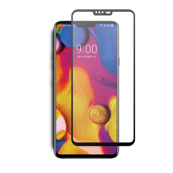 VMAX LG V40 ThinQ 2.5D Full Cover Tempered Glass Screen Protector