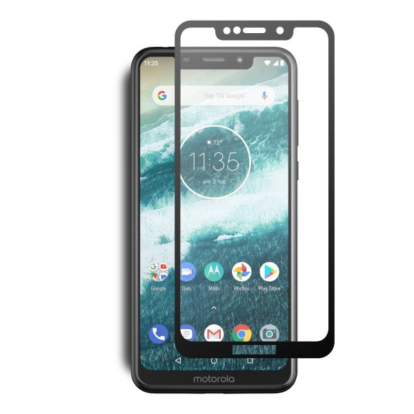 Motorola Moto One 2.5D Full Cover Tempered Glass Screen Protector