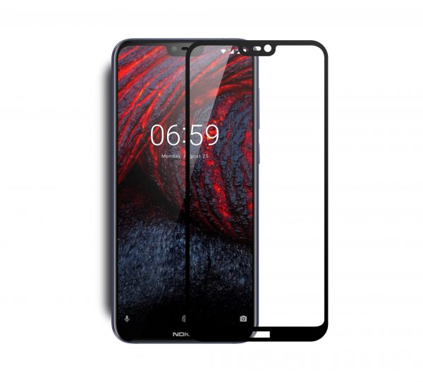 VMAX Nokia 6.1 Plus 2.5D Full Cover Tempered Glass Screen Protector