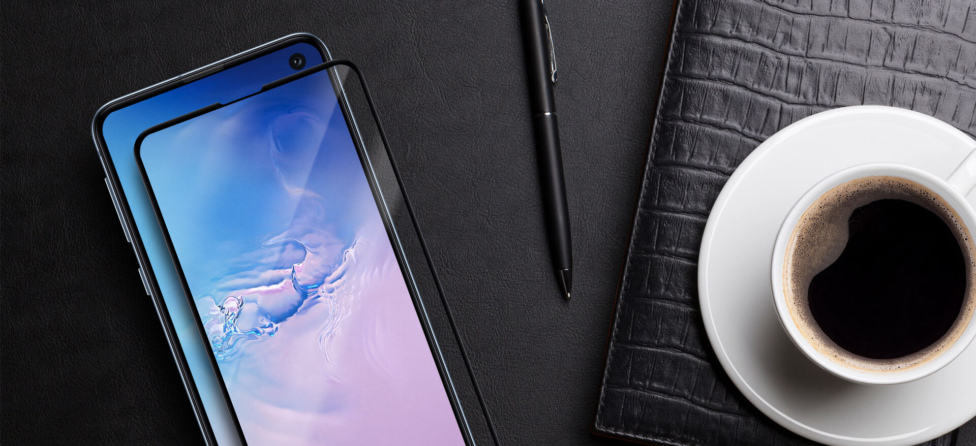 VMAX Samsung Galaxy S10e 3D Full Cover Tempered Glass Screen Protector