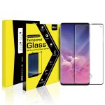 VMAX Samsung Galaxy S10 3D Curved Tempered Glass Screen Protector Case Friendly