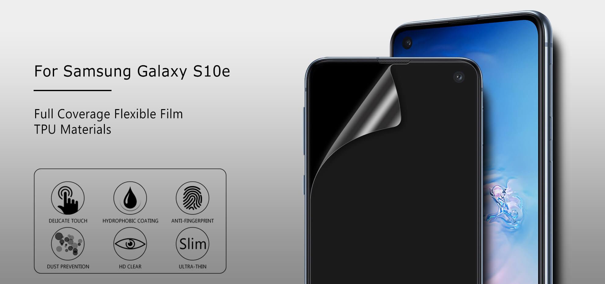 VMAX Samsung Galaxy S10e Full Cover Invisible TPU Soft Film Screen Protector