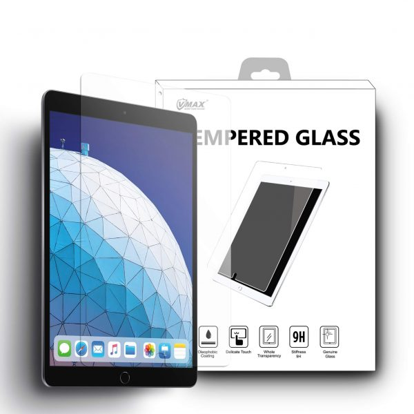 VMAX iPad Air 2019 10.5 inch High Transparent Tempered Glass Screen Protector