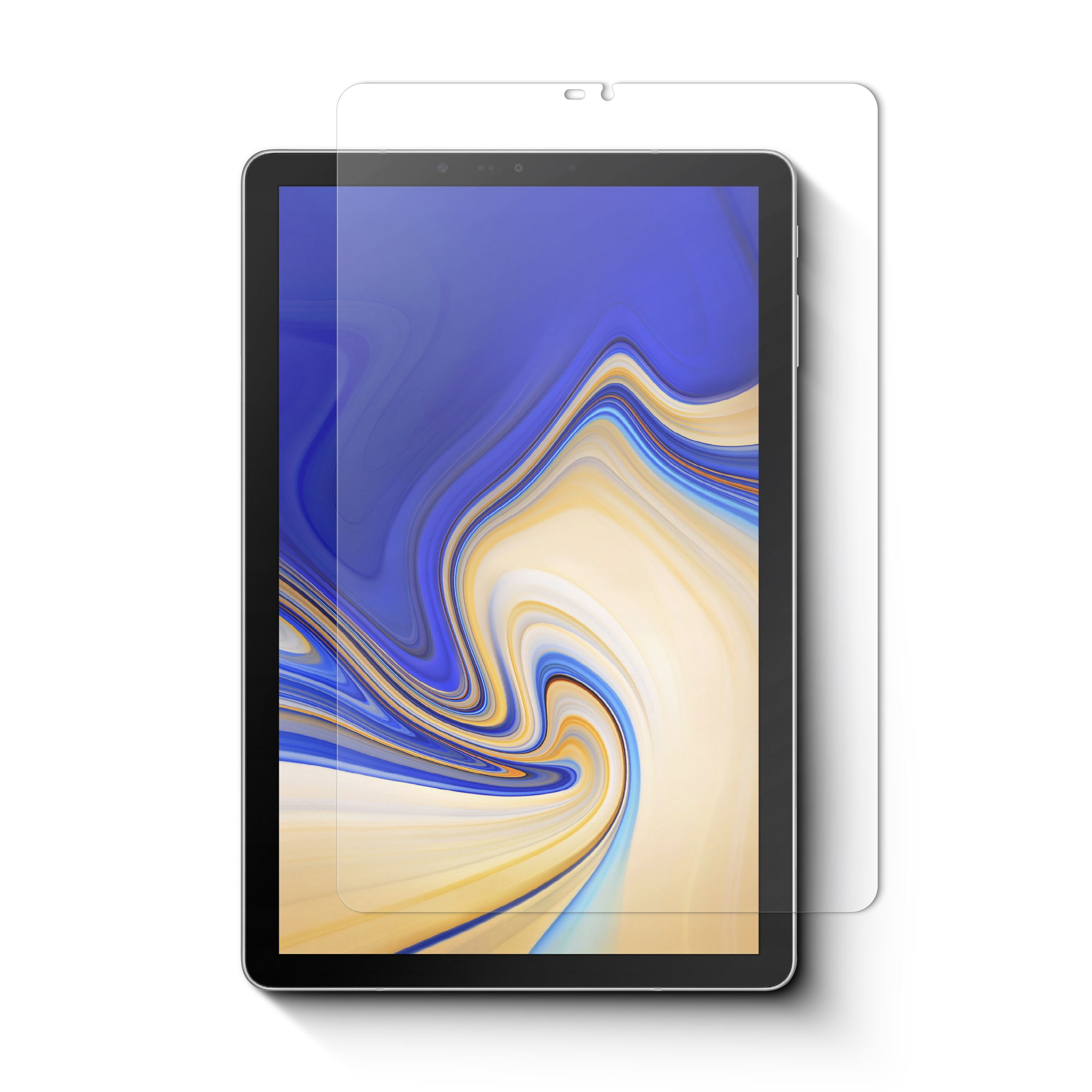 samsung galaxy tab s4 10 5 high transparent tempered glass. Black Bedroom Furniture Sets. Home Design Ideas